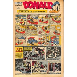 ABAO Bandes dessinées Donald 1950/01/08 n°146