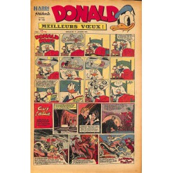 ABAO Bandes dessinées Donald 1950/01/01 n°145