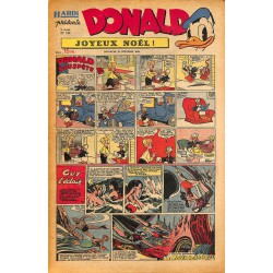 ABAO Bandes dessinées Donald 1949/12/25 n°144