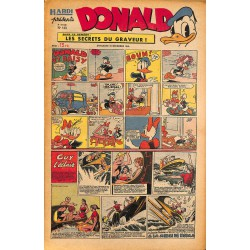 ABAO Bandes dessinées Donald 1949/12/18 n°143