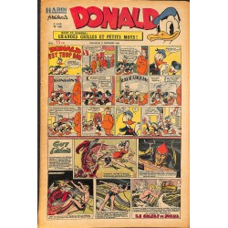 ABAO Bandes dessinées Donald 1949/12/11 n°142