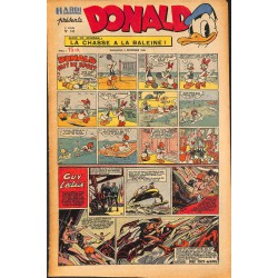 ABAO Bandes dessinées Donald 1949/12/04 n°141