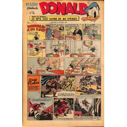 ABAO Bandes dessinées Donald 1949/10/30 n°136