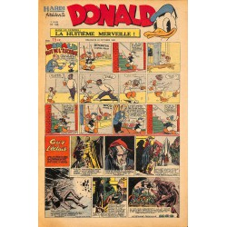 ABAO Bandes dessinées Donald 1949/10/23 n°135