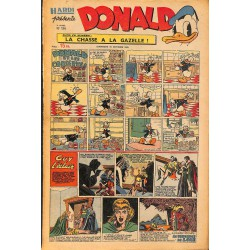 ABAO Bandes dessinées Donald 1949/10/16 n°134