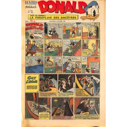 ABAO Bandes dessinées Donald 1949/10/02 n°132