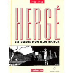ABAO Bandes dessinées [Hergé] Peeters (Benoît) - Hergé, Les Débuts d'un illustrateur 1922-1932.