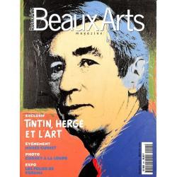 Bandes dessinées [Hergé] Beaux-Arts magazine 201