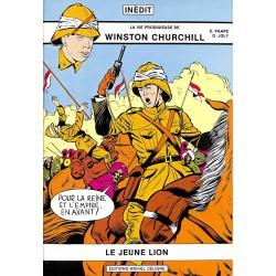 ABAO Bandes dessinées La Vie prodigieuse de Winston Churchill 01