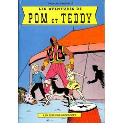 Bandes dessinées Pom et Teddy (Deligne) 01