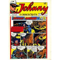 Bandes dessinées Johnny, le journal de l'âge d'or 05