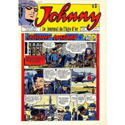 Bandes dessinées Johnny, le journal de l'âge d'or 03