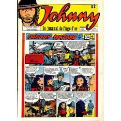 Bandes dessinées Johnny, le journal de l'âge d'or 02