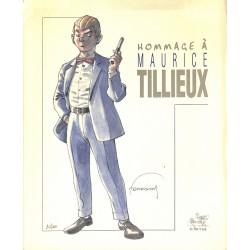 Bandes dessinées Hommage à Maurice Tillieux. Portfolio TL n° et s.