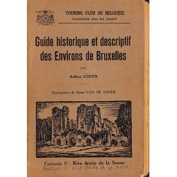 1900- Cosyn (Arthur) - Guide historique et descriptif des environs de Bruxelles.