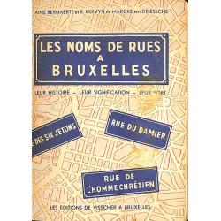 1900- [Bruxelles] Bernaerts (Aimé) et Kervyn (Roger) - Les Noms de rues à Bruxelles.