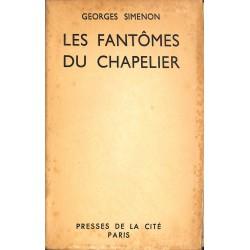 Grands papiers Simenon (Georges) - Les Fantômes du chapelier. EO num. / 200.