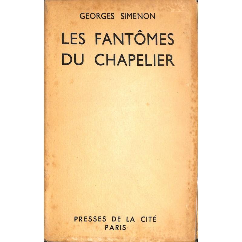 ABAO Grands papiers Simenon (Georges) - Les Fantômes du chapelier. EO num. / 200.