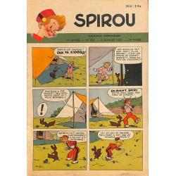 ABAO Bandes dessinées Spirou 1951/01/04 n°664