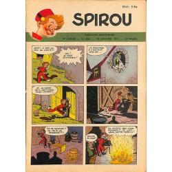 ABAO Bandes dessinées Spirou 1951/01/18 n°666