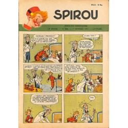 ABAO Bandes dessinées Spirou 1951/02/01 n°668