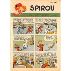ABAO Bandes dessinées Spirou 1951/02/08 n°669