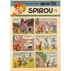 ABAO Bandes dessinées Spirou 1951/02/15 n°670