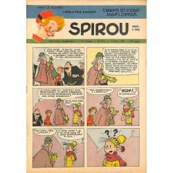 ABAO Bandes dessinées Spirou 1951/03/01 n°672