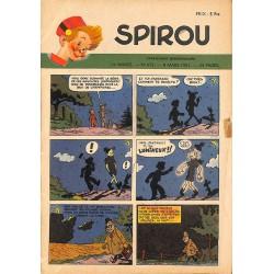 ABAO Bandes dessinées Spirou 1951/03/08 n°673