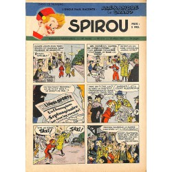 ABAO Bandes dessinées Spirou 1951/03/15 n°674