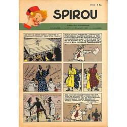 ABAO Bandes dessinées Spirou 1951/03/22 n°675