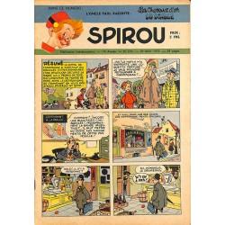 ABAO Bandes dessinées Spirou 1951/03/29 n°676