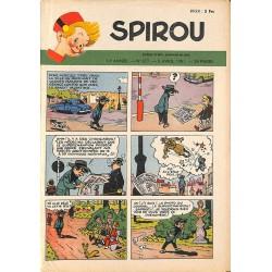 ABAO Bandes dessinées Spirou 1951/04/05 n°677