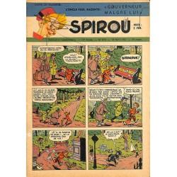 ABAO Bandes dessinées Spirou 1951/04/12 n°678