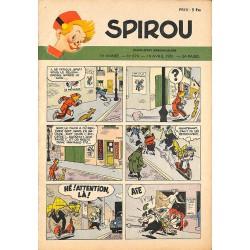 ABAO Bandes dessinées Spirou 1951/04/19 n°679