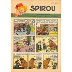 ABAO Bandes dessinées Spirou 1951/05/03 n°681