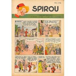 ABAO Bandes dessinées Spirou 1951/05/17 n°683
