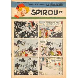 ABAO Bandes dessinées Spirou 1951/05/24 n°684