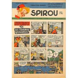 ABAO Bandes dessinées Spirou 1951/06/07 n°686
