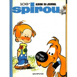 ABAO Bandes dessinées Spirou album n°108