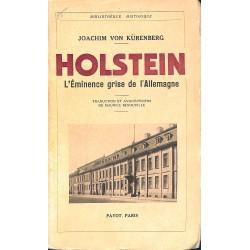 1900- Kürenberg (Joachim von) - Holstein.
