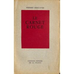 ABAO Grands papiers Descaves (Pierre) - Le Carnet rouge. EO num./50