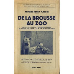 ABAO 1900- Flassch (Armand-Henry) - De la brousse au zoo.