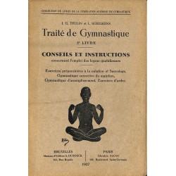ABAO 1900- Thulin (J.G.) & Schelkens (L.) - Traité de Gymnastique. 5e livre.