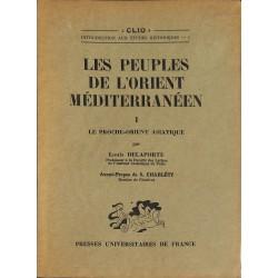ABAO 1900- Les Peuples de l'Orient méditerranéen. 2 tomes.