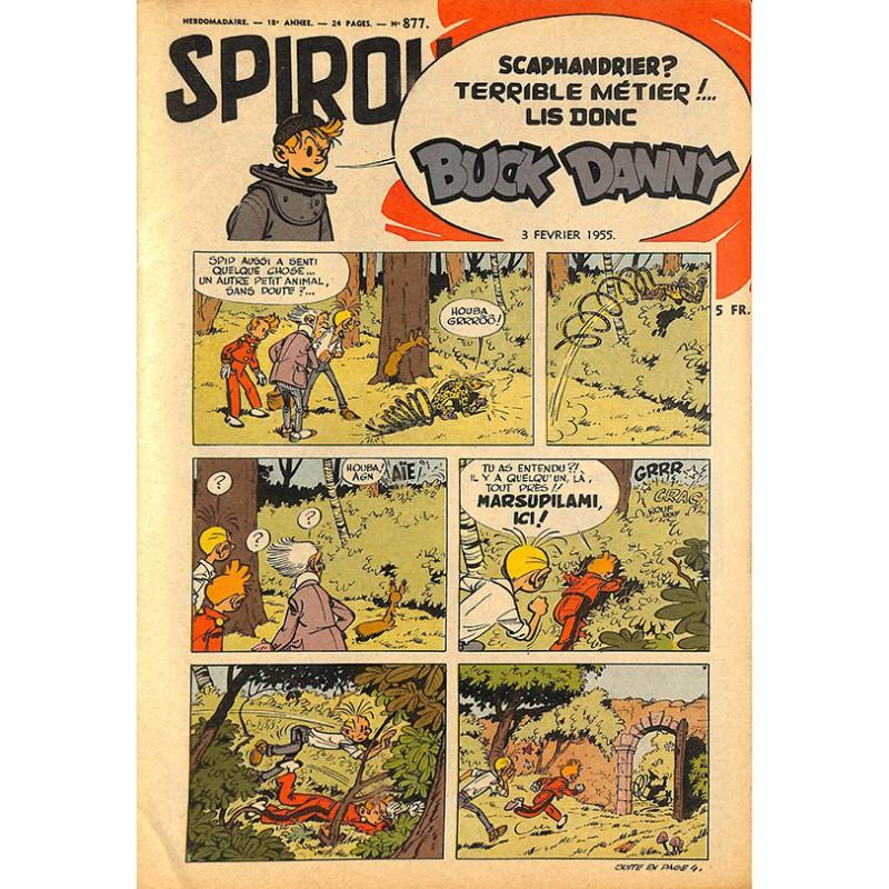 LE BON NUMERO - Page 39 Bandes-dessinees-spirou-1955-02-03-n877