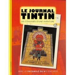 ABAO Bandes dessinées Le Journal Tintin, les coulisses d'une aventure.
