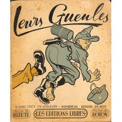 ABAO 1900- [1940-1945] Hoton (Edmond) - Leurs Gueules. Illustrations de Bizuth.