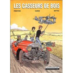 Bandes dessinées Les Casseurs de bois + Dédicace + 4 Ex-libris n. & s.