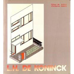 ABAO 1900- [De Koninck (Louis-Herman)] L.H. De Koninck architecte.